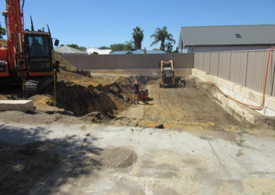 Allareas Earthmoving - Retaining Walls - Preparation & Compaction