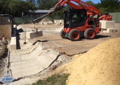 Allareas Earthmoving - Retaining Walls - Site Preparation