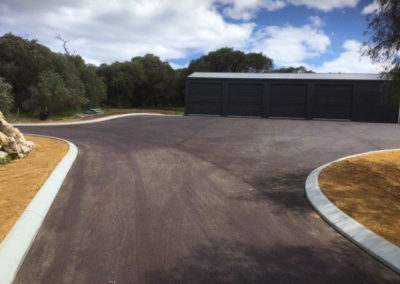 Allareas Earthmoving - Earthworks - Driveway Completed