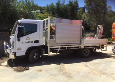 Allareas Earthmoving - Hyundai Service Truck