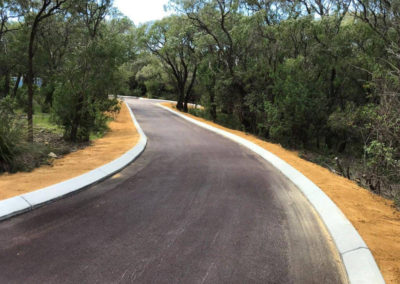 Allareas Earthmoving - Earthworks - Completed Driveway