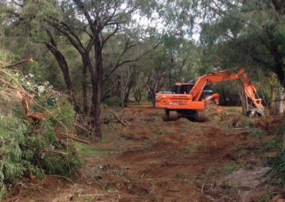 Allareas Earthmoving - Earthworks - Site Clearing
